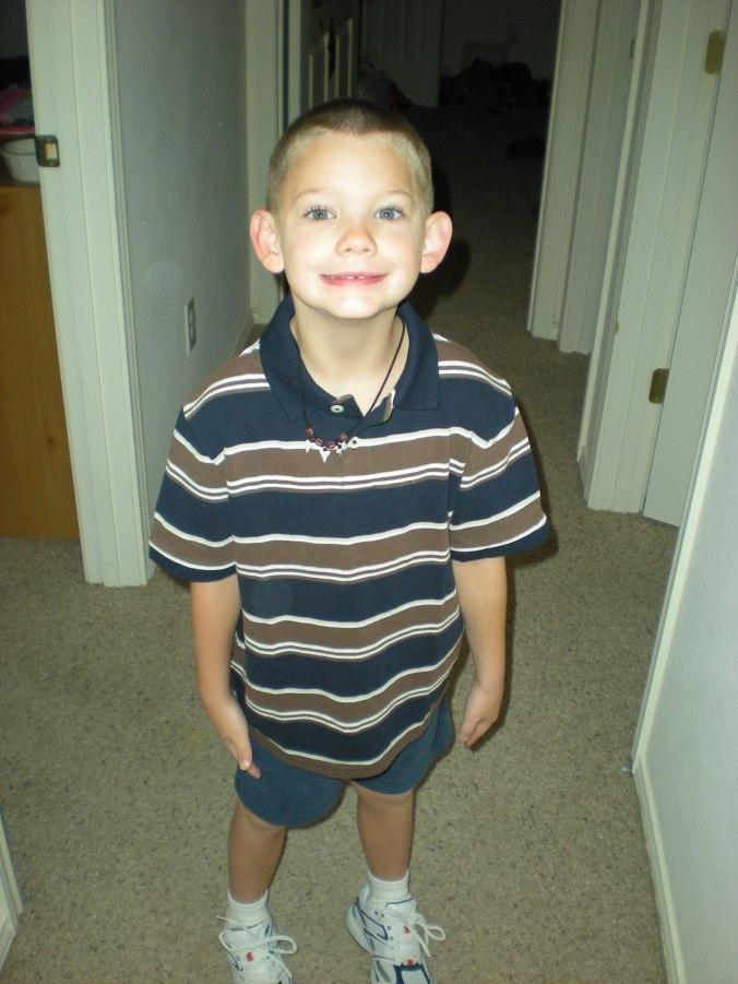 Alex First Day.First Grade 2009