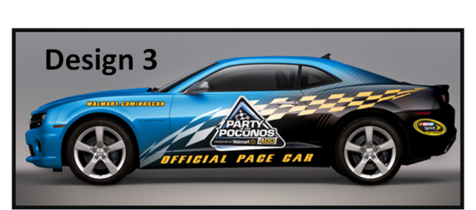 pace car 3